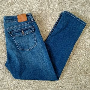Lucky Brand Sweet Cropped Jean Size 10 30 Midrise